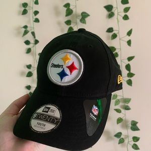 🌿 Youth Steelers Hat 🌿
